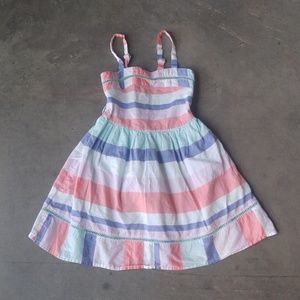 Cat & Jack Striped Sundress Girls S/6/6x